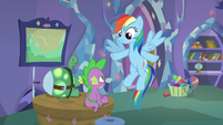 """Rainbow """"You're practically twins!"""" S5E5"""