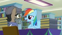 """Rainbow Dash """"just like in Somnambula!"""" S9E21"""
