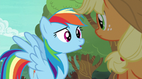 """Rainbow Dash asking """"what for?"""" S6E18"""