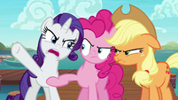 Rarity --the middle of the ocean!-- S6E22