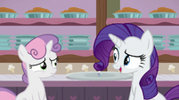 Rarity -I know you're dying to dig in- S7E6
