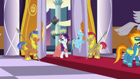 Rarity says the dinner was absolutely divine S5E15