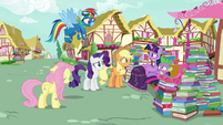 """Twilight """"we'll just have to tell Pinkie"""" S8E18"""