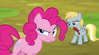 Unnamed filly looking annoyed S4E22