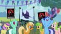 1000px-Mysterious Mare Do Well rally posters Batman S2E08