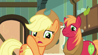 "Applejack ""best not bring it up"" S7E13"