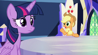 """Applejack """"try him out at the post office"""" S8E21"""