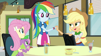 """Applejack """"we've got nothing to worry about"""" EG2"""