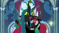 """Chrysalis """"push them over the brink!"""" S9E24"""