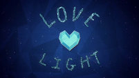 Crystal Heart radiates with love and light BFHHS5