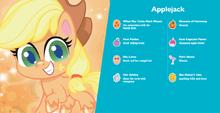 MLP Pony Life Applejack Hasbro.com character bio