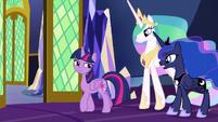 Princess Luna -don't mind the extra effort- S9E13