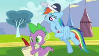 Rainbow Dash not bad S2E22