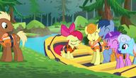S06E04 Apple Bloom na pontonie