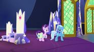 S07E02 Trixie mówi Starlight, że ma chęć na coś słodkiego