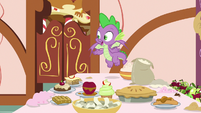 "Spike ""did somepony else bake these?"" S9E23"