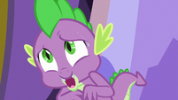 """Spike """"you must be hungry from your travels"""" S7E15"""