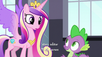 Spike eager to help S5E10
