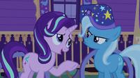 Starlight Glimmer apologizing to Trixie S6E25