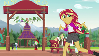 Sunset Shimmer --what we've been able to do here-- EG4