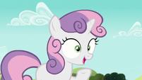 Sweetie -Applejack is back from Manehattan already-- S5E17