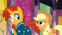"""Applejack """"all those legendary ponies were real"""" S7E25"""