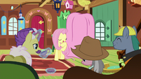 Fluttershy starts addressing expert ponies S7E5