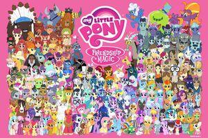 MLP Facebook 'One Million Friends' poster.jpg