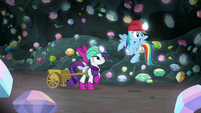 """Rainbow """"we could find a treasure chamber"""" S8E17"""