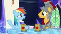 """Rainbow Dash """"isn't that a good thing?"""" S7E26"""