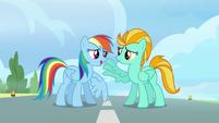 Rainbow tells Lightning her name S3E07