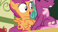 Scootaloo gasps with excitement S9E12