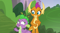 """Spike """"supposed to live in castles"""" S8E24"""