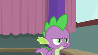 Spike getting annoyed with Twilight S9E16