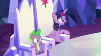 """Twilight """"glad Spike brought you here"""" S8E24"""
