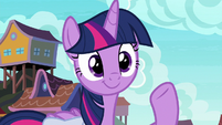 Twilight smiling out at the ocean S9E5