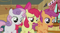 "Apple Bloom ""What's wrong, Pipsqueak?"" S5E18"