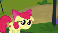 Apple Bloom looking incredibly sad S7E21