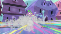 Crystal Ponies scattering in terror S6E16