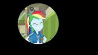 Iris out on Rainbow Dash's happy grin EGDS12b