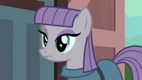 Maud Pie watching the other ponies hug S7E24