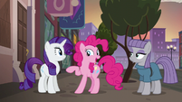 Pinkie Pie --now that you mention it-- S6E3
