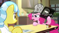 Pinkie Pie -analyze the flavor of that pie- S7E23