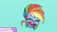 "Rainbow ""succeeding at being such a jerk"" PLS1E2b"