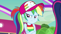 Rainbow crosses her arms in disappointment EGSB