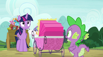 """Spike """"only four-and-a-half minutes late"""" S7E3"""