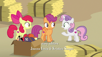 """Sweetie Belle """"why don't we just ask him?"""" S7E8"""