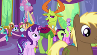 "Thorax ""it's a bit overwhelming"" S7E1"