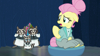 """Fluttershy """"I think I need a new character"""" S8E4"""