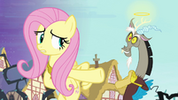 "Fluttershy and ""angel"" Discord S4E01"